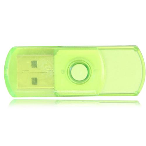 16GB Translucent Mini USB Flash Drive Image 1