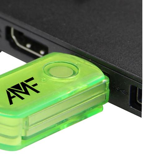 16GB Translucent Mini USB Flash Drive Image 8