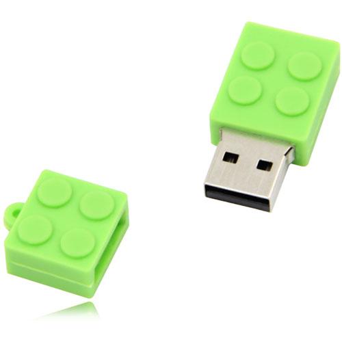 2GB Brick USB Mini Flash Drive