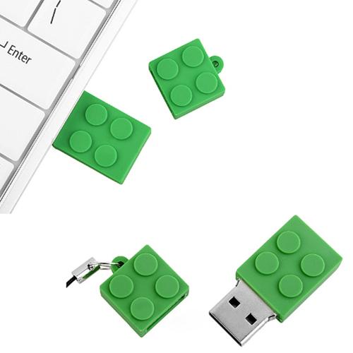 4GB Brick USB Mini Flash Drive