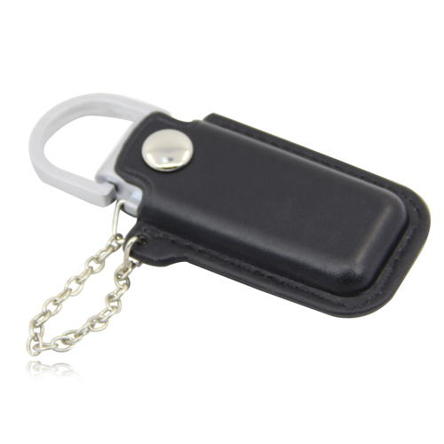 4GB Dashing Flash Drive With Leather Case