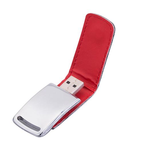 4GB Dashing Leather Flash Drive
