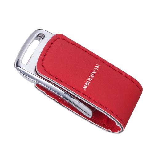 8GB Dashing Leather Flash Drive Image 1