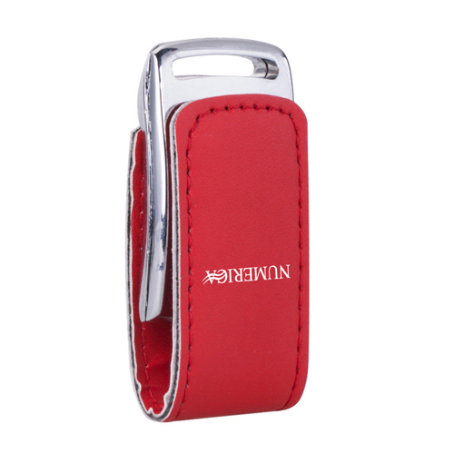 8GB Dashing Leather Flash Drive Image 2