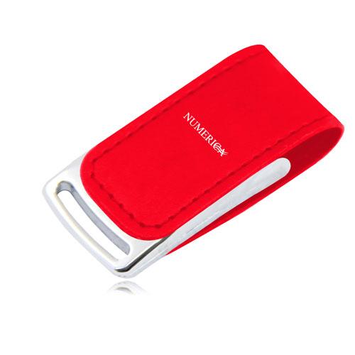 32GB Dashing Leather Flash Drive