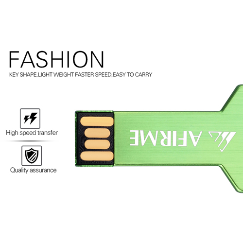 8GB Key Shape Flash Drive Image 2