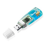 2GB Liquid USB Flash Drive