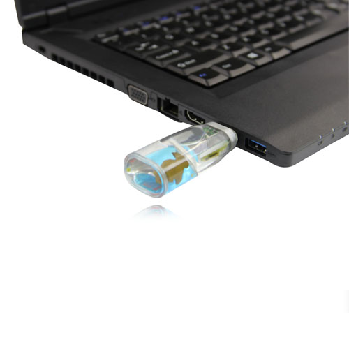 4GB Liquid USB Flash Drive Image 3