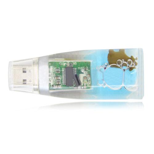 4GB Liquid USB Flash Drive Image 5