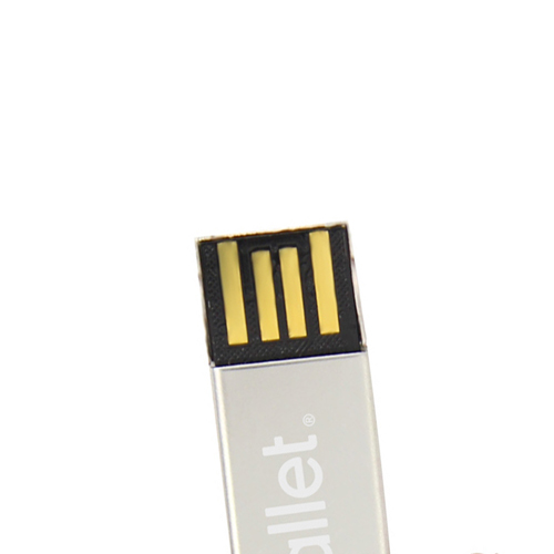 4GB Key Shaped Metal Flash Drive Image 6