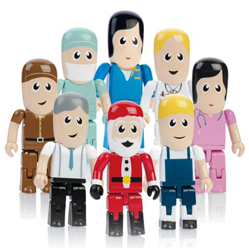 8GB Micro People Flash Drive