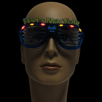 Happy New Year Light Up Sunglass