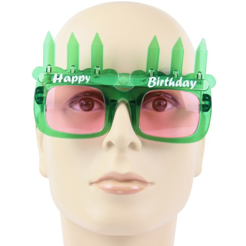 Birthday Candle LED Sunglass