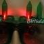 Birthday Candle LED Sunglass