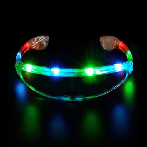 Space Design Flashing Sunglasses