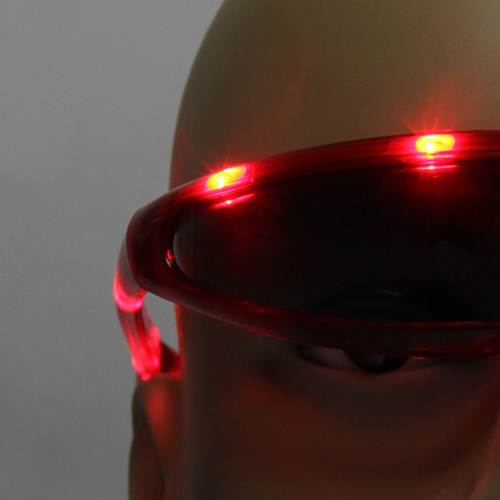 Space Design Flashing Sunglasses