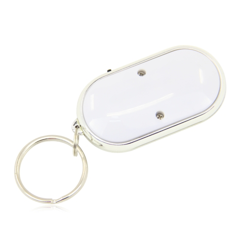 Oval Whistle Key Finder Keychain Image 5
