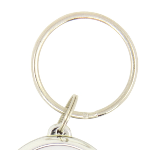 Oval Whistle Key Finder Keychain Image 6