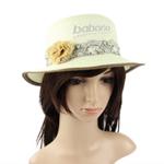 Dainty Flower Ribbon Straw Hat
