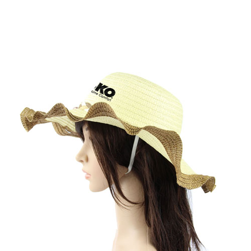 Stylish Brim Straw Hat