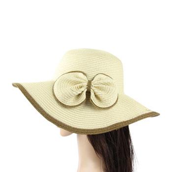 Bow Straw Hat