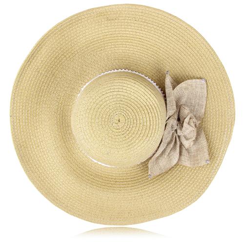Bow Ribbon Straw Hat