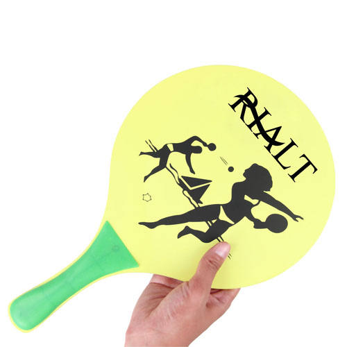 Wooden Beach Paddle Ball Set Image 4
