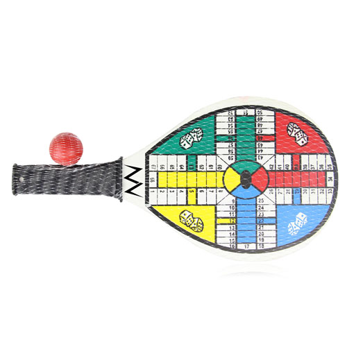 Ludo Board Game Beach Paddle Image 1