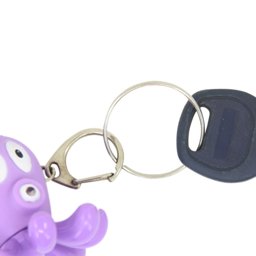 Octopus Shaped Led Keychain Image 7
