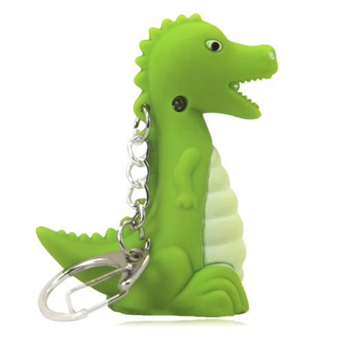 Dinosaur Led Sound Keychain