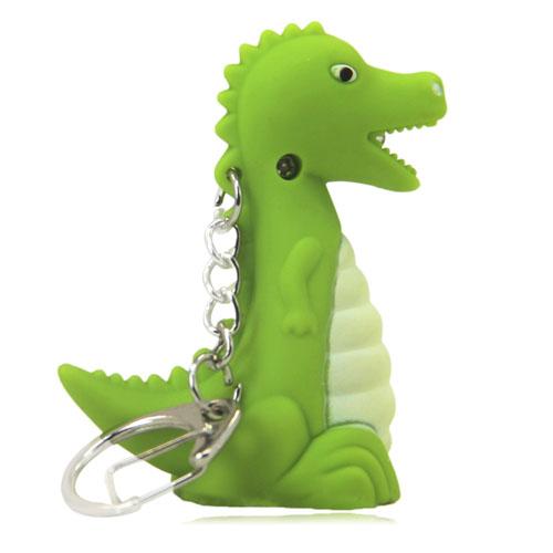 Dinosaur Led Sound Keychain Image 9