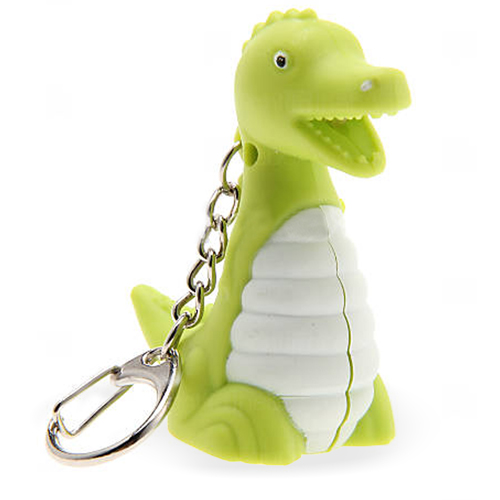 Dinosaur Led Sound Keychain