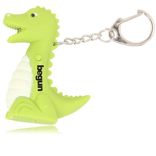 Dinosaur Led Sound Keychain Image 2