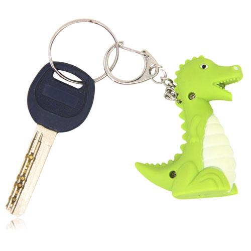 Dinosaur Led Sound Keychain Image 3