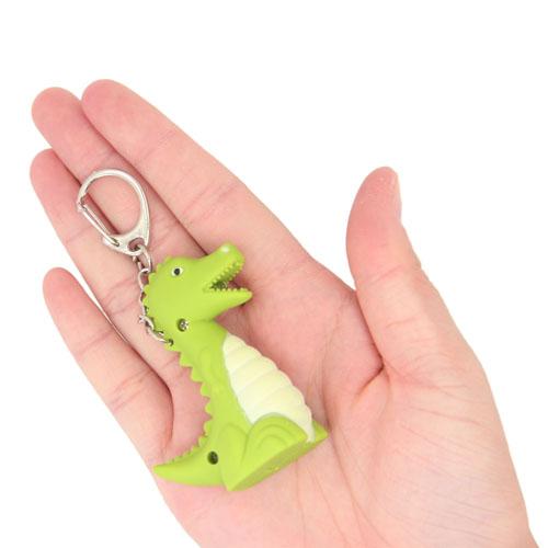 Dinosaur Led Sound Keychain Image 4