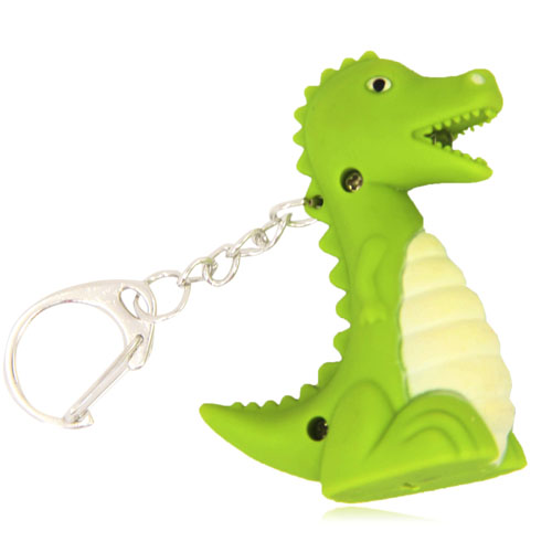 Dinosaur Led Sound Keychain Image 5