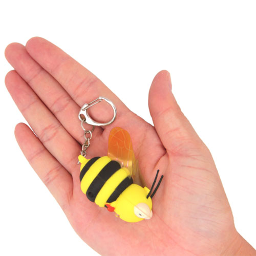 Bee Light Keychain With Sound