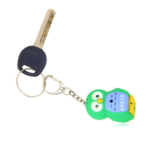 Owl Light  Keychain With Sound Image 3