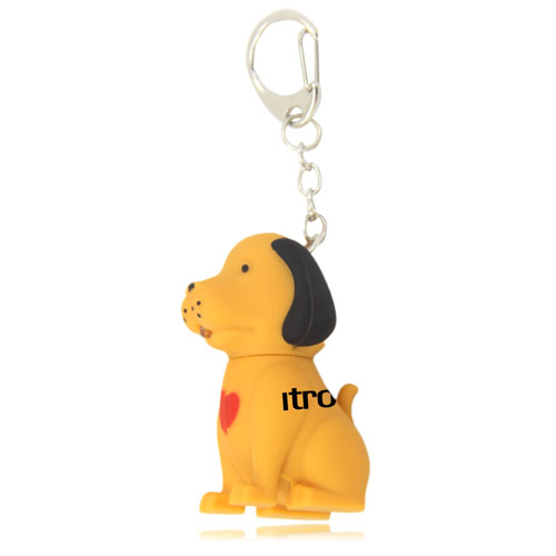 Dog Sound Keychain With Light Image 9