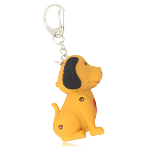 Dog Sound Keychain With Light Image 1
