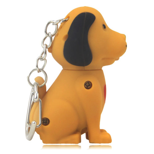 Dog Sound Keychain With Light Image 2