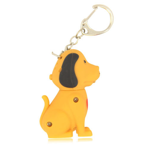 Dog Sound Keychain With Light Image 5