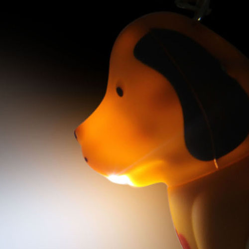 Dog Sound Keychain With Light Image 6