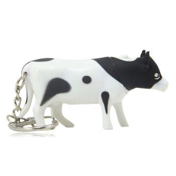 Bull Shaped Led Keychain