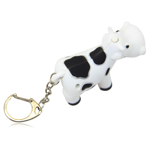 Cow Led Keychain With Sound Image 10