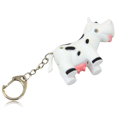 Cow Led Keychain With Sound Image 11