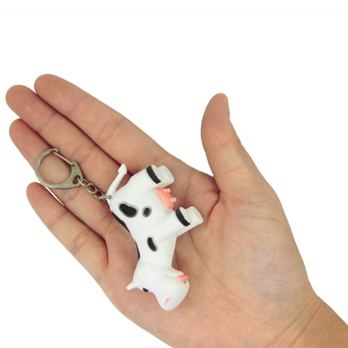 Cow Led Keychain With Sound Image 3