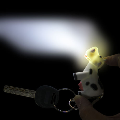 Cow Led Keychain With Sound Image 4