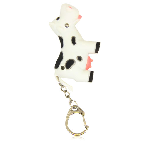 Cow Led Keychain With Sound Image 5