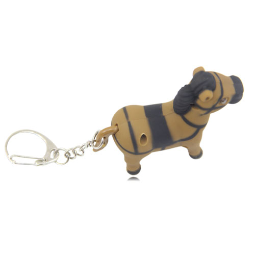 Pony Horse Shaped Light Keychain Image 10